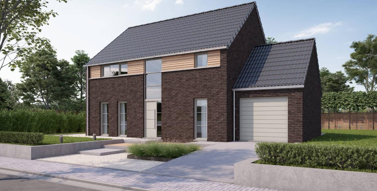 maison clef sur porte en Belgique