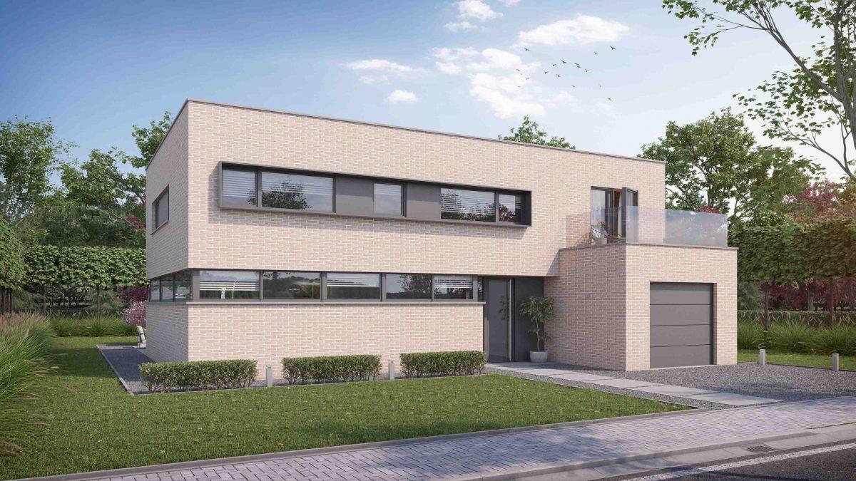 Prix au m² construction maison contemporaine - Maisons Compère