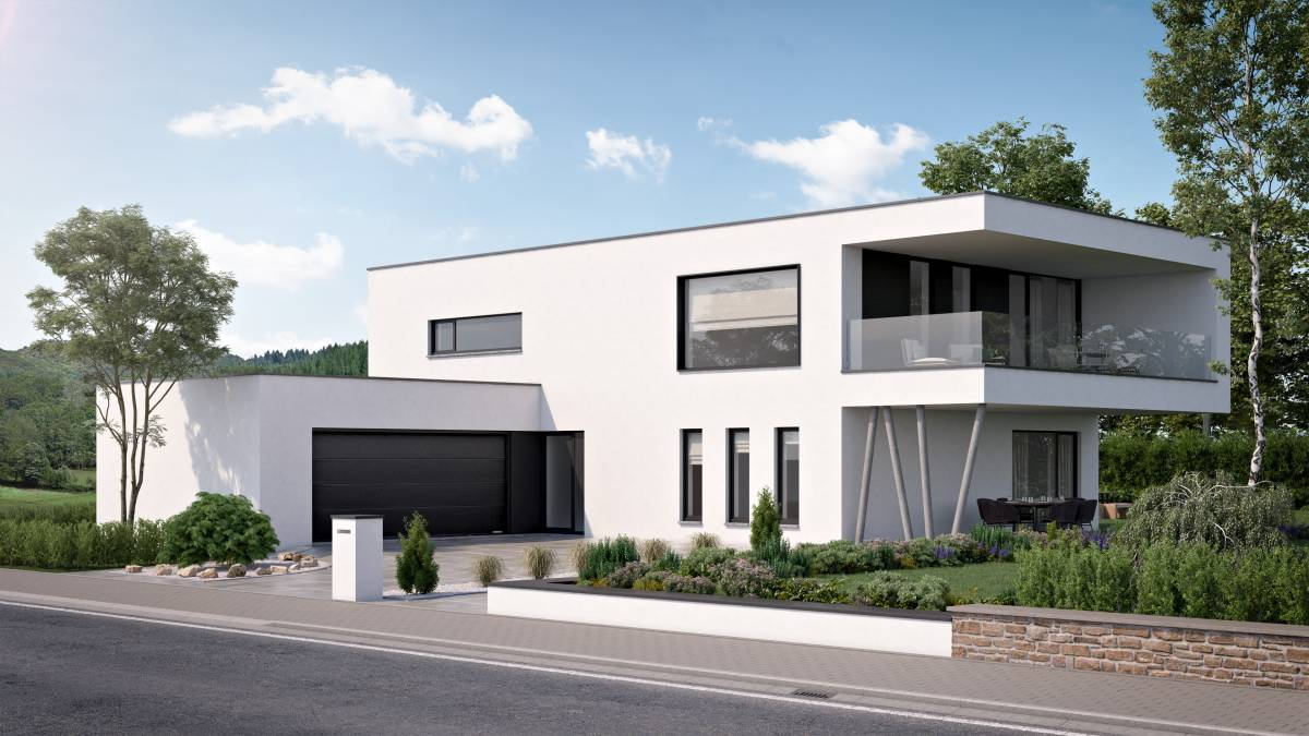 Prix Au M Construction Maison Contemporaine Maisons Compere